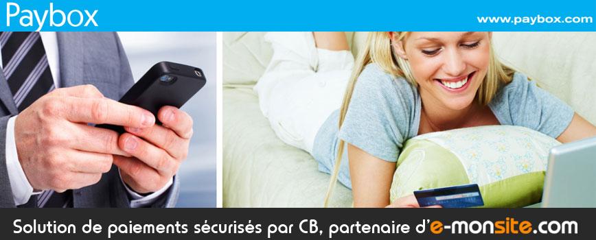 Paybox partenaire e-monsite