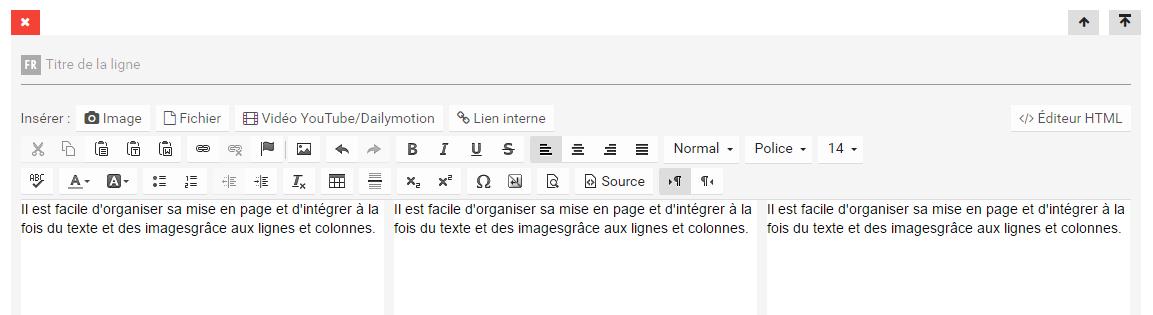 Positionner du texte et des images dans une page 2