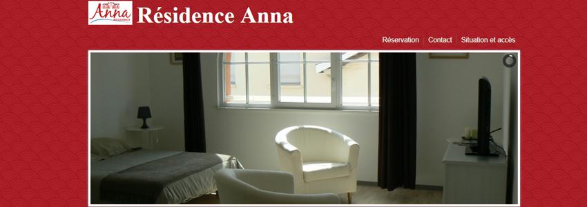 La résidence Anna