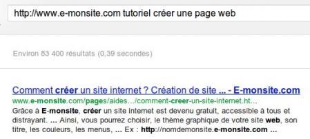 Retrouver contenu perdu dans le cache de google