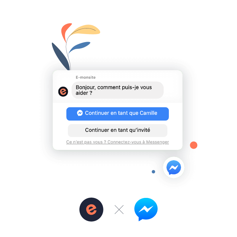 Messenger, service de chat avec Facebook