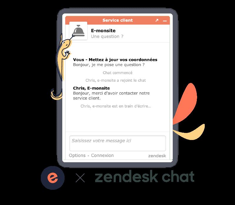Zendesk Chat, le support client par messagerie instantanée
