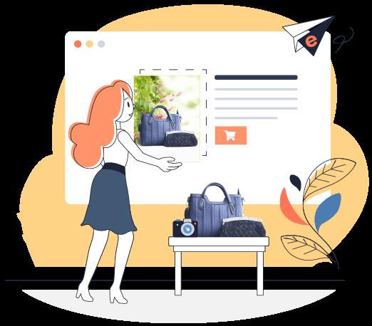 Site e-commerce  accueil