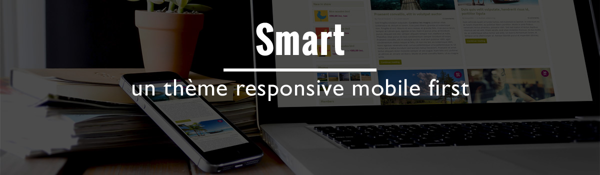 Smart un theme mobile first 1