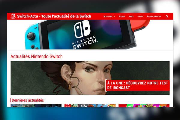 Switch Actu