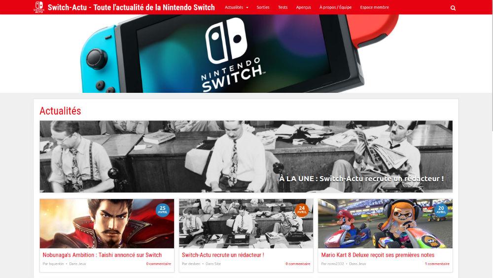 nintendo switch jeux open world