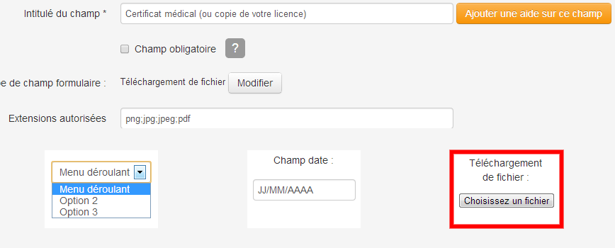 Telechargement de fichier