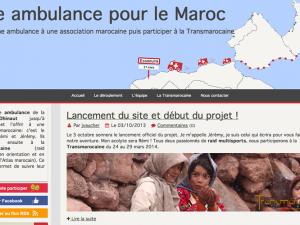 Une ambulance pour le maroc