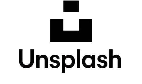 Unsplash logo blanc