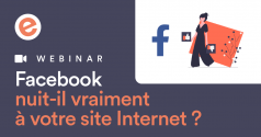 Webinar facebook site internet