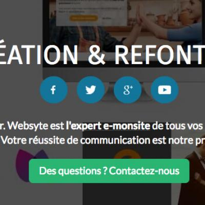 Websyte expert creation site web e monsite