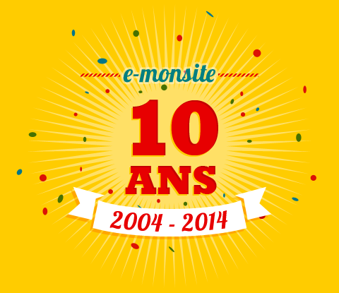 E-monsite a 10 ans
